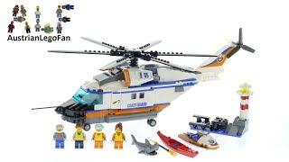Lego City 60166 Heavy-Duty Rescue Helicopter - Lego Speed Build Review