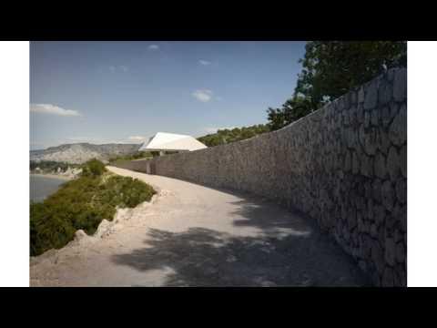 Futuristic sculptural modern mansion overlooking the greek archipelago villa f homesthetics inspirin