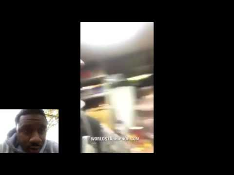 Savage: Arab worker violates 2 chicks at his deli  Worldstar hip-hop ((reaction)))