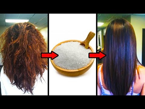 Try This Easy Grandma's Method To Get Silky Hair With Epsom Salt