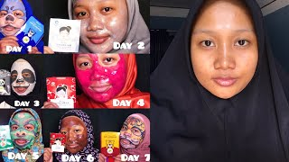 Hanasui Full Review + Try On (Sheet Mask and Peel off Mask)