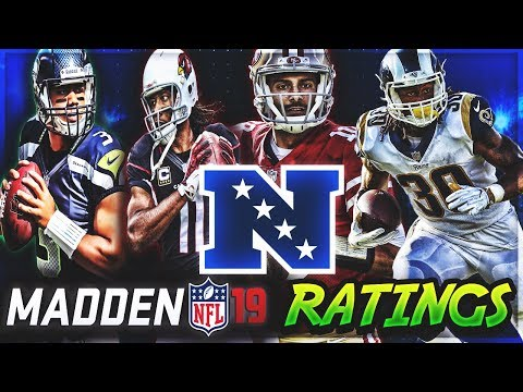 NFC WEST Madden 19 Player Ratings | c4's Custom Madden 18 Rosters