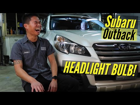 HOW TO: Subaru Outback Headlight Bulb Replacement
