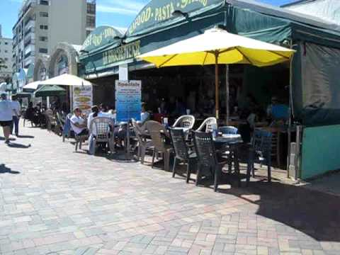 Best Hollywood Beach Breakfast Variety Restaurants directly on the Boardwalk with Beach & Ocean View