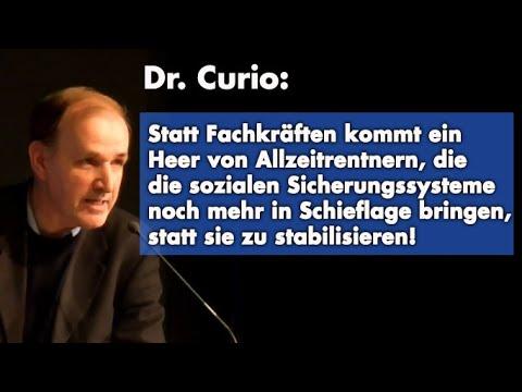 Die Lüge von der Migration zur Behebung eines Fachkräftemangels   Dr. Gottfried Curio