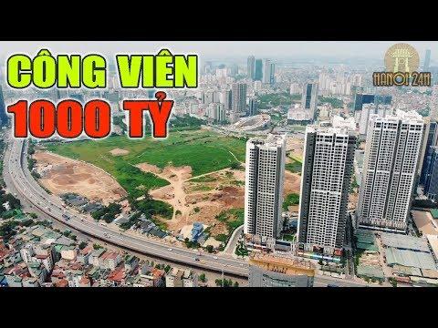 Vingroup triển khai xây dựng Công Viên Hồ Điều Hòa lớn nhất Hà Nội