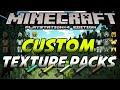 Minecraft PS4 - Custom Texture Packs - (PS4/PS3)