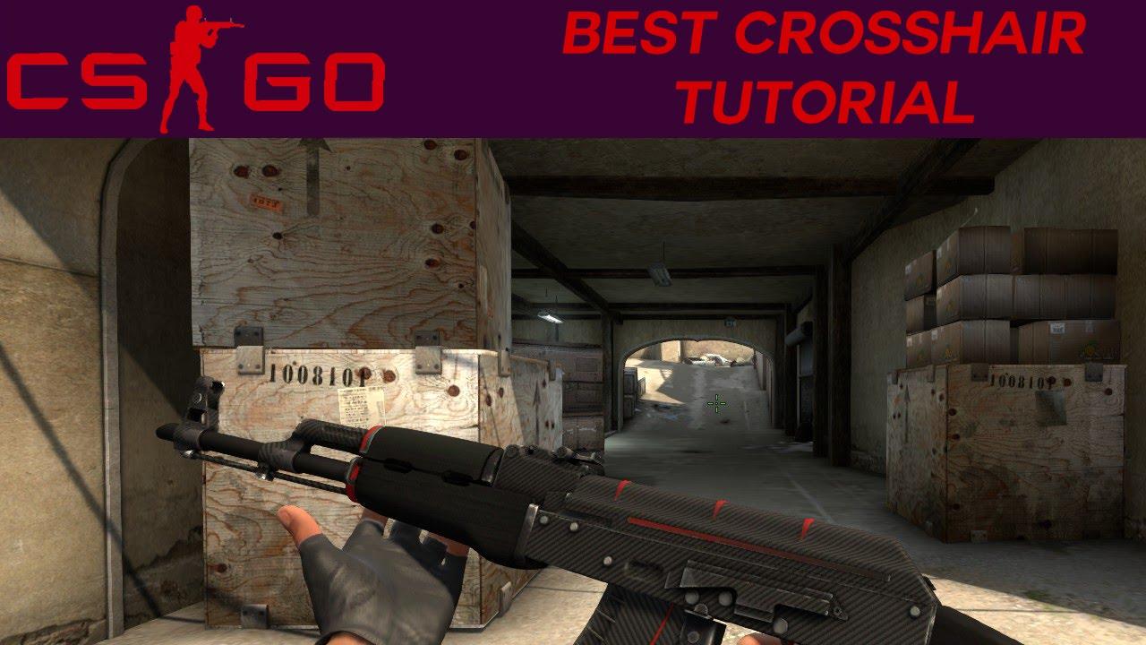CS:GO - Best Crosshair Tutorial - YouTube