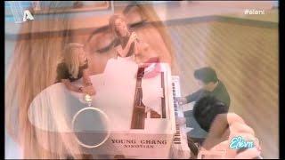 Ο Γιώργος Θεοφάνους και η Στέλλα Καλλή στην Ελένη (29/01/16)