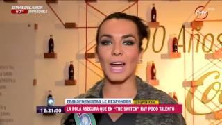 La Pola y sus polémicos dichos contra los participantes de The Switch - SQP