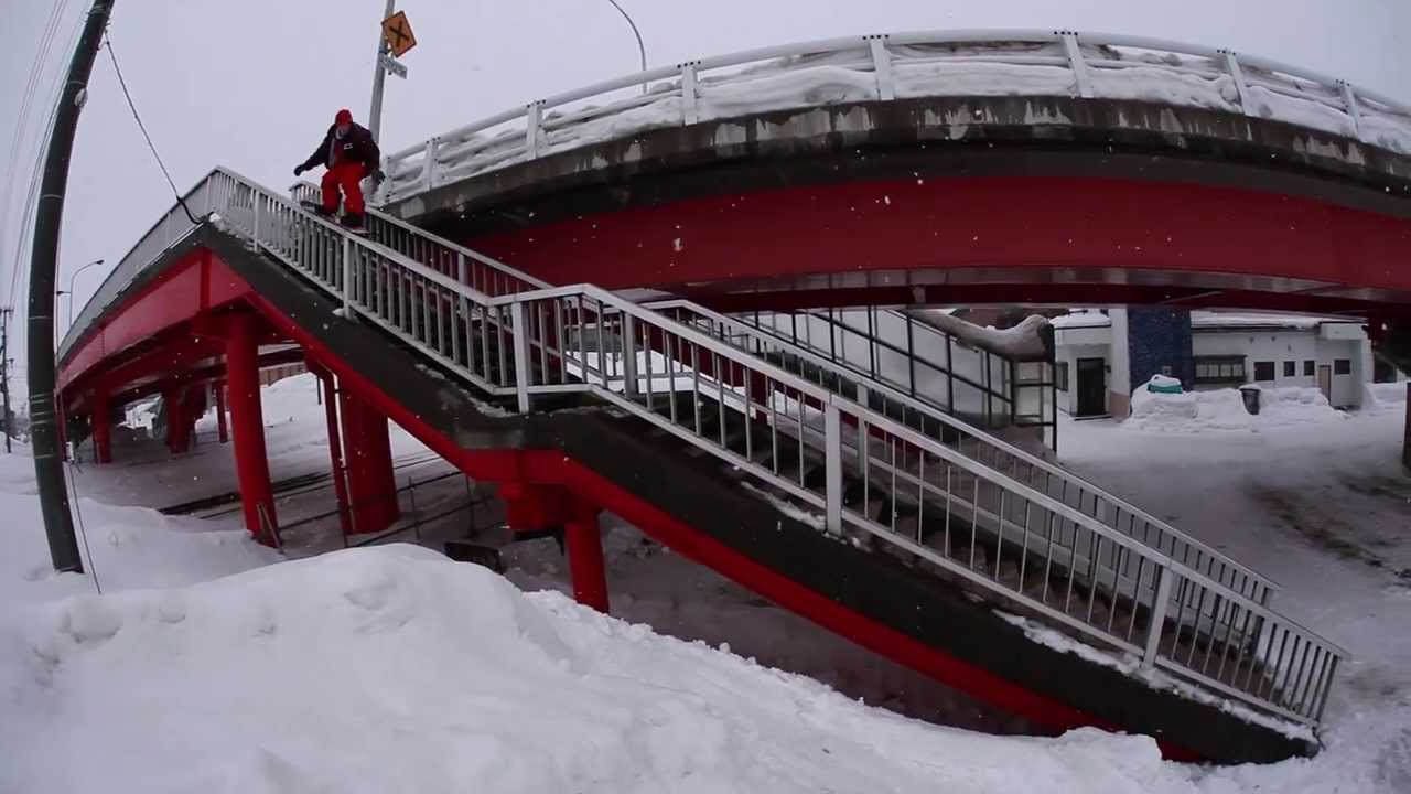Seth Hill Snowboards Japan - Full Part