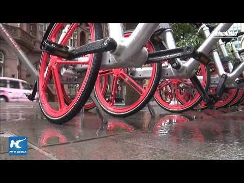 Innovation and green tech: Chinese shared bikes in Manchester