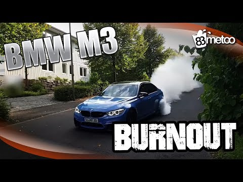 BMW M3 F80 Burnout | BMW M3 F80 Porn | BMW M3 F80 Capristo Exhaust