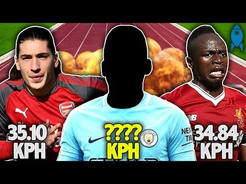 The Fastest Player In The Premier League Is… | #StatWarsTheChampions