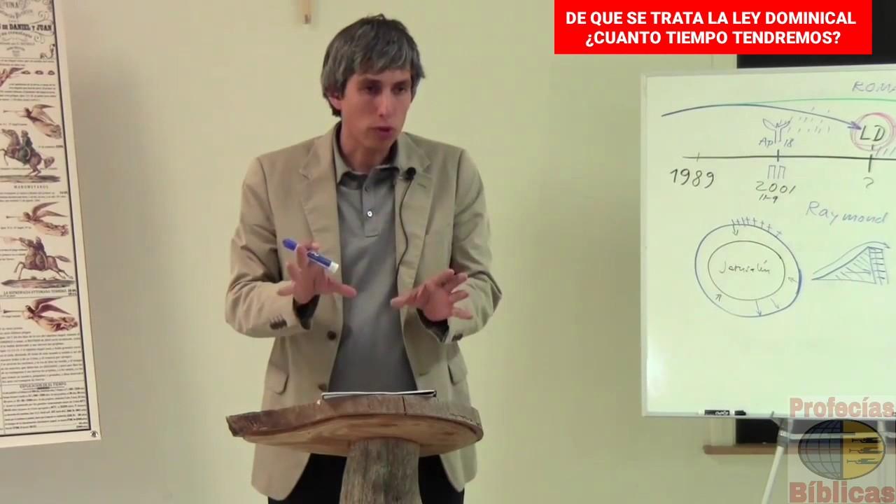 DE QUE SE TRATA LA LEY DOMINICAL ¿CUANTO TIEMPO TENDREMOS? (Marco Barrios)