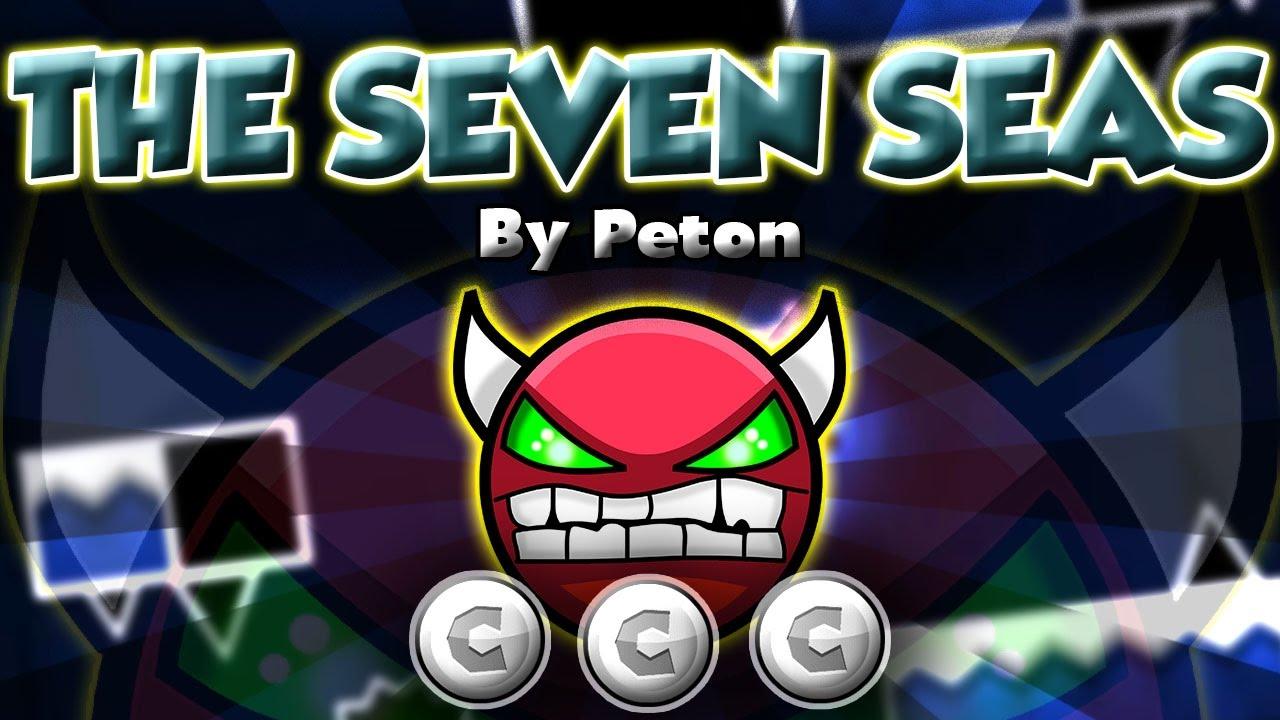Demon The Seven Seas By Peton Geometry Dash Pegasus Gd Youtube