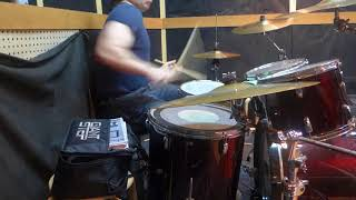 Tama Swingstar drum set soundcheck part 2