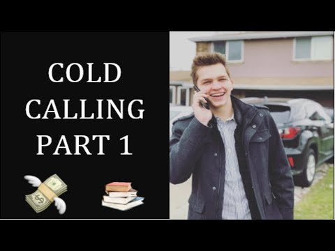 LIVE COLD CALLS FOR SMMA IN 2018 AS A TEENAGER