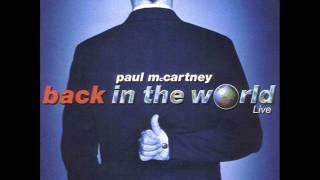 Paul McCartney - Eleanor Rigby (live) (audio)