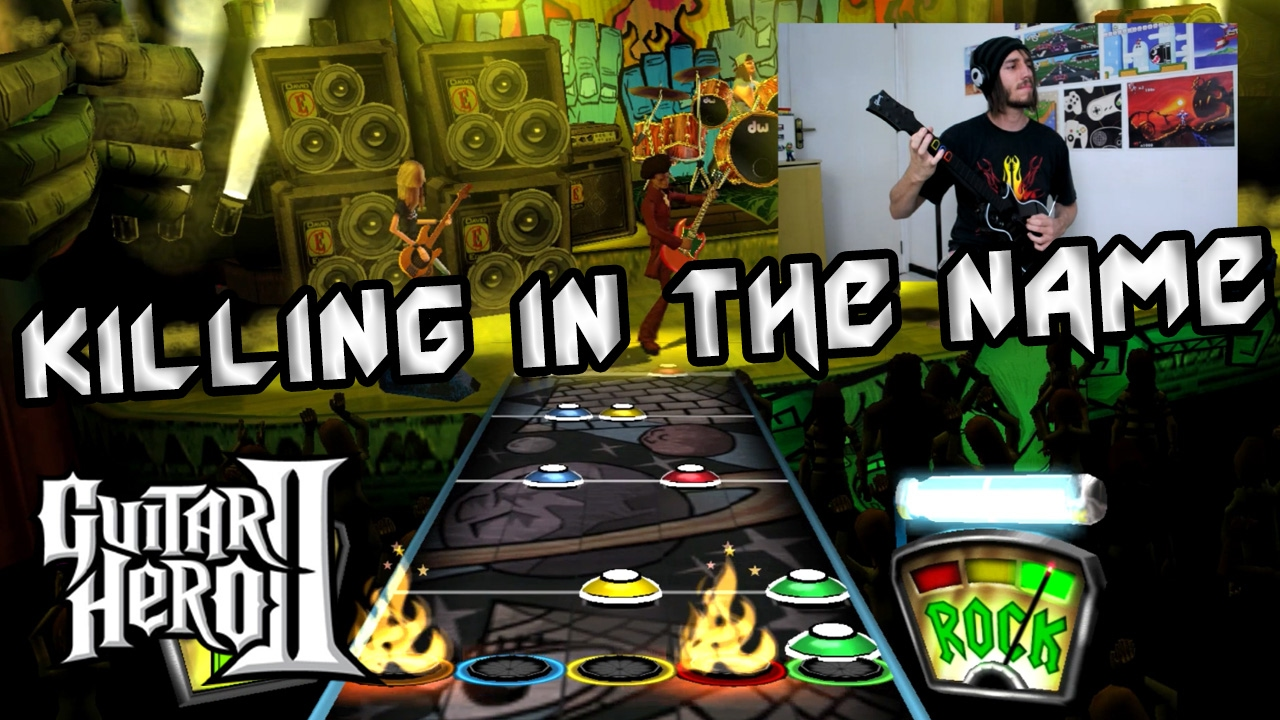 killing in the name guitar hero ii castrofox youtube. Black Bedroom Furniture Sets. Home Design Ideas