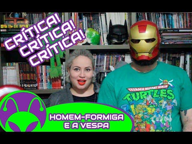 Freakritica | Assistimos Homem-Formiga e a Vespa! Será que é bom?