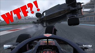 F1 2018 - ULTIMATE Crash Compilation (PC HD) [1080p60FPS]