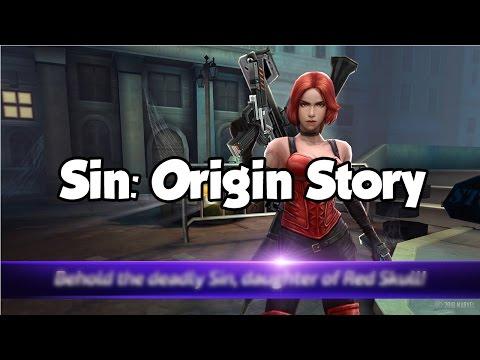 [Marvel Future Fight] Sin: Origin Story