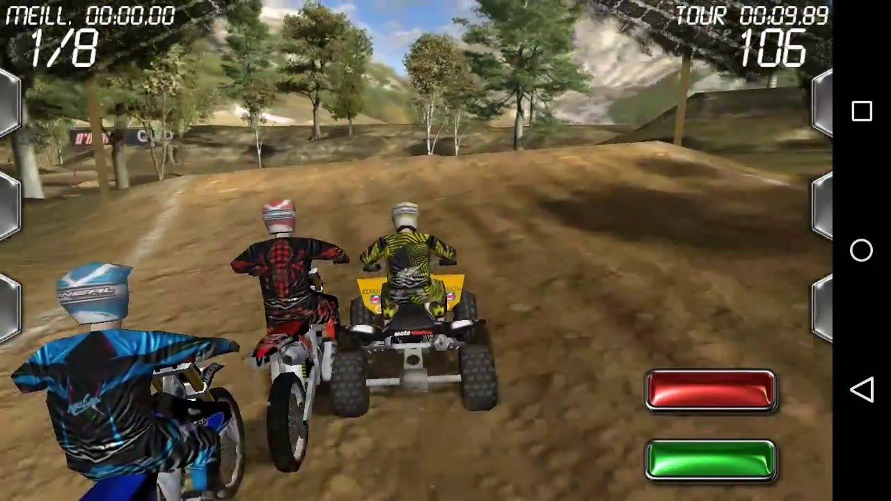 meilleur jeux de moto cross android hd gameplay mxoffroad youtube