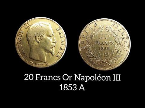 20 francs Or Napoléon III 1853 A (Louis d'or) - Coin Presentation #4