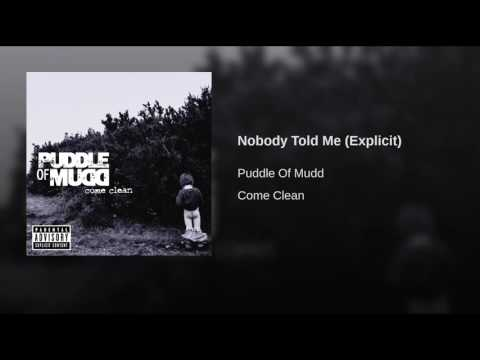 Nobody Told Me (Explicit)