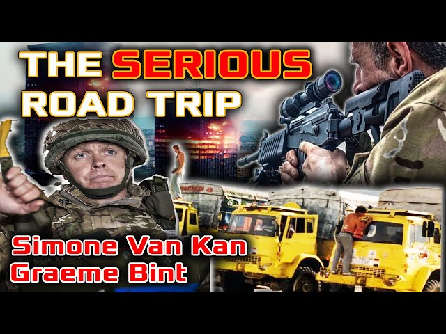 The 'MAD' Paratrooper Graeme Bint | Snipers In Bosnia | The SERIOUS Road Trip | Simone Van Kan