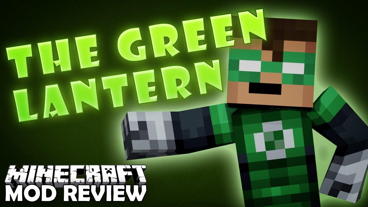 Minecraft The Green Lantern Superheros Unlimited Mod