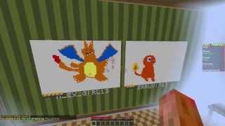 Pixel Painters con mi Madre (Minecraft)