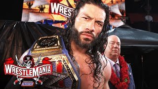 Roman Reigns kept his word: WrestleMania 37 Exclusive, April 11, 2021