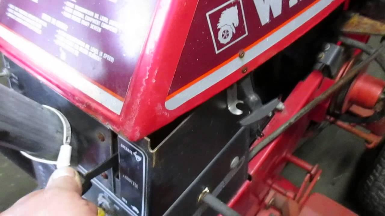 small resolution of wheel horse 310 8 kohler k241 youtube
