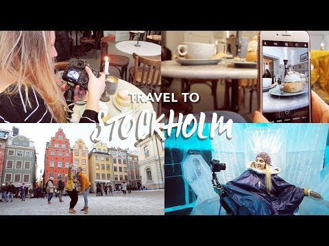 STOCKHOLM, ICE BAR & SEMLA | Sweden Travel Vlog