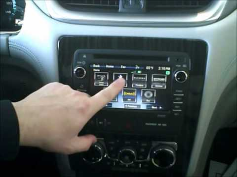 Streaming Bluetooth Audio using Chevrolet MyLink in 2013 Chevrolet Traverse