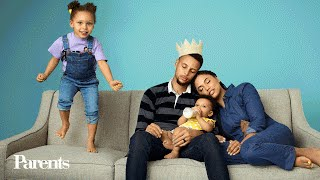 Stephen and Ayesha Curry Talk Parenthood and Their Adorable Pre-Game Ritual | Parents