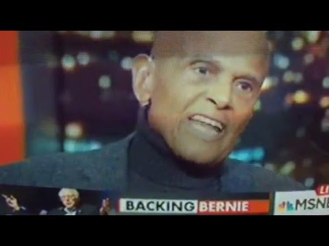 Harry Belafonte Differs With John Lewis on Bernie Sanders