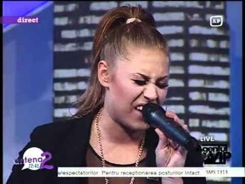 Linda Teodosiu - Love On Top (Beyonce Cover) LIVE Antena 2
