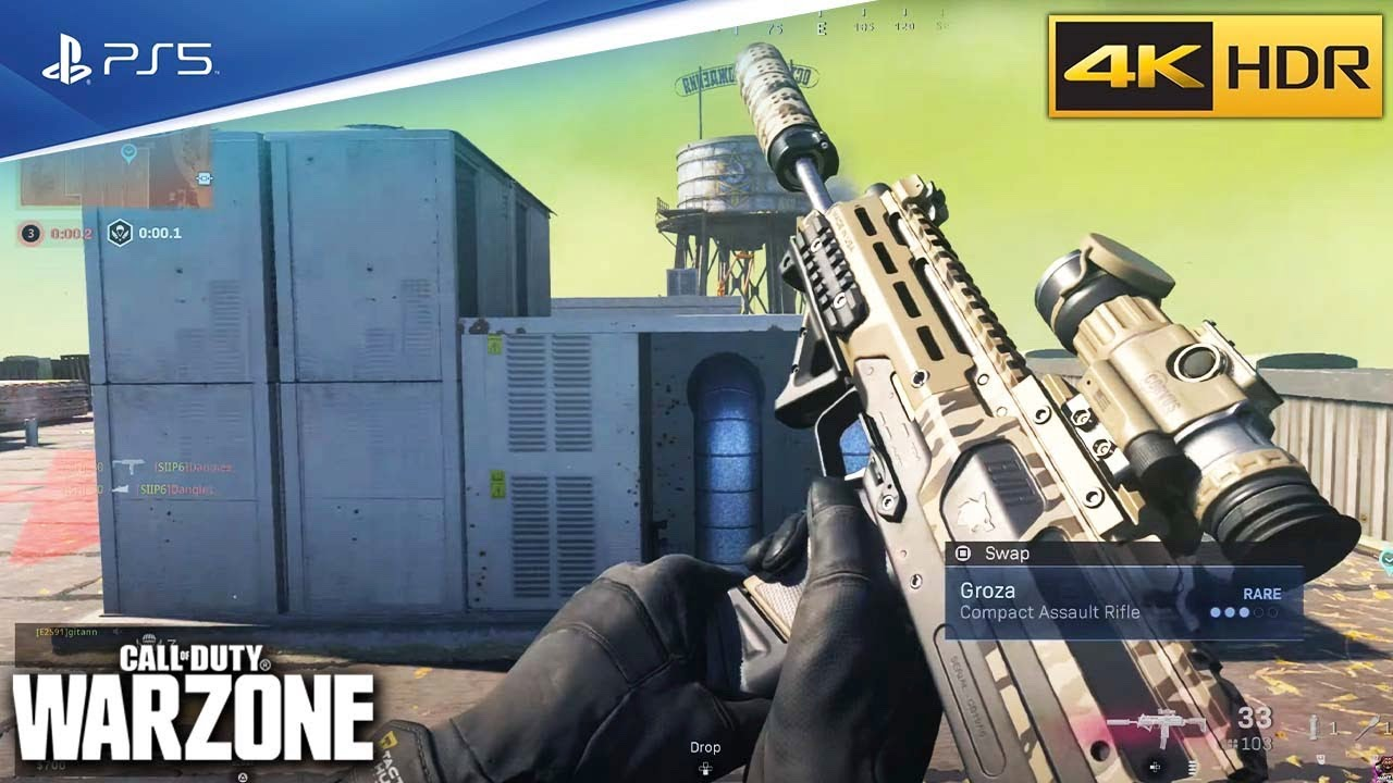 Call of Duty Rebirth Island Gameplay [Playstation 5 HDR 4k] No Commentary