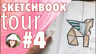 Sketchbook Tour - Sketchbook number 4 - Jan 18 to Feb 18