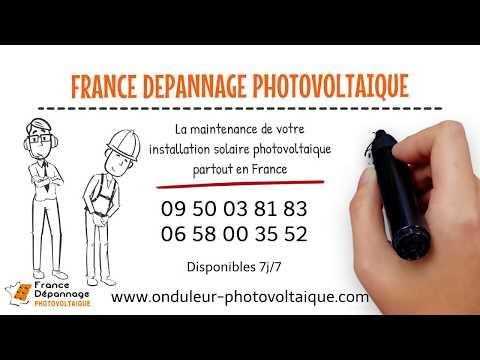 France Dépannage Photovoltaïque maintenance onduleurs et panneaux solaires en France