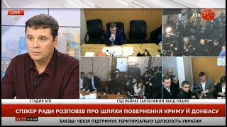 Володимир Пилипенко про шляхи повернення Криму та Донбасу, 19.11.2019