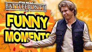 Star Wars Battlefront 2 Funny & Random Moments [FUNTAGE] #47