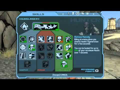 Borderlands  Mordecai Sniper Build