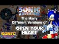 Sonic Music Releases The Many Different Versions Of Open Your Heart mp3