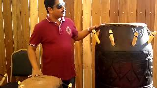 Sameesh Vatakara is playing Congo Instrument