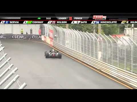 2011 IZOD INDYCAR Series Sao Paulo Indy Monday Race part 3 (Finish/Post Race)