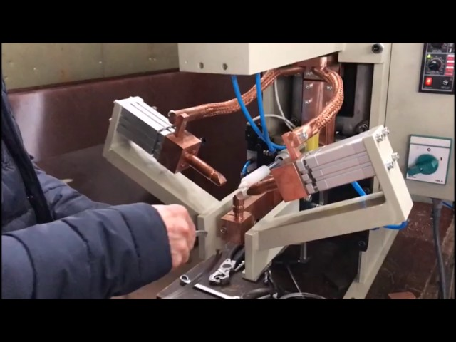 Sağlam Makina - İşe Özel Çember Kelepçe Punta Kaynak Makinesi